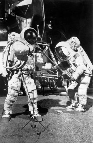 Space - Apollo 11 Lunar Surface Practice