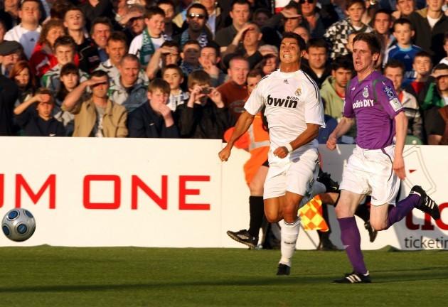 Ian Bermingham and Cristiano Ronaldo