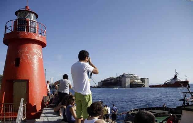 Italy Shipwreck