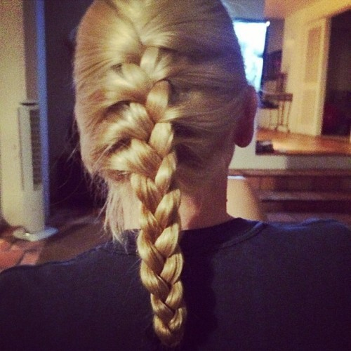 This is a weird thing to brag about but I did that glorious french braid. #Baller #man #ManBraid #RealMenBraid #isItBrade? #SpellingQuestion #StillBallerTho #WhyIsItFrench??? #ICallItAFreedomBraid #GoUsa