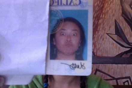 Louise drivers license photo