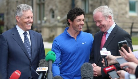 Golf - Rory McIlroy Photocall - Stormont