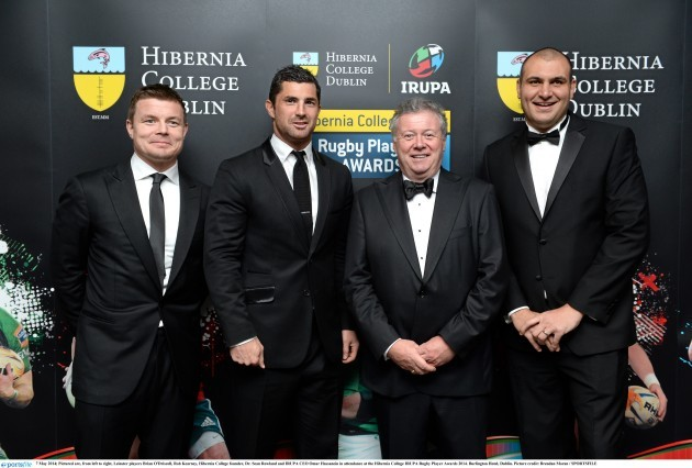 Hibernia College IRUPA Rugby Player Awards 2014