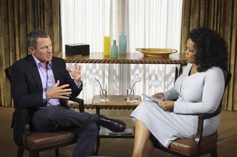 Lance Armstrong Interviewed by Oprah Winfrey