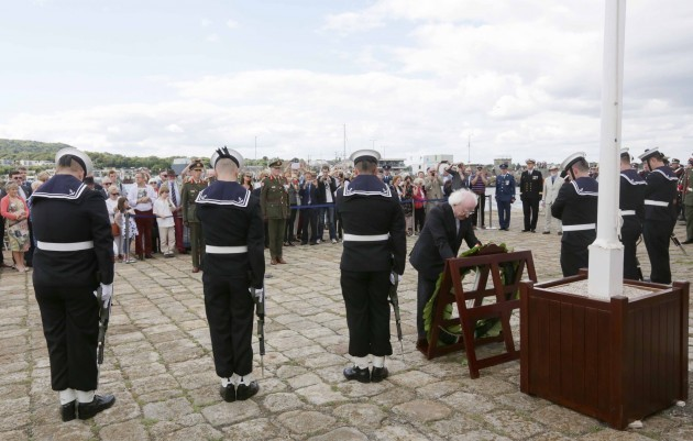 Centenary commemoration of the landing