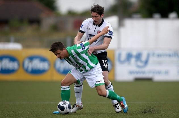 Ruaidhri Higgins and Jake Kelly