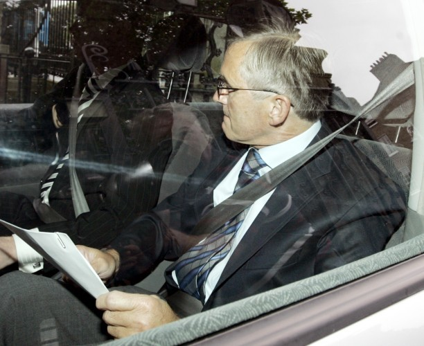 Ivor Callely expenses hearing. Pictured