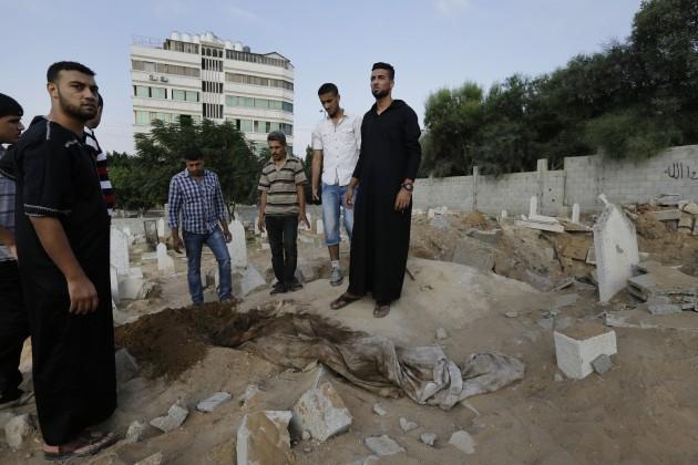 Mideast Israel Palestinians Edid