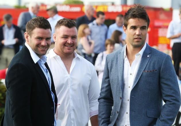 Fergus McFadden with David Kilcoyne and Conor Murray