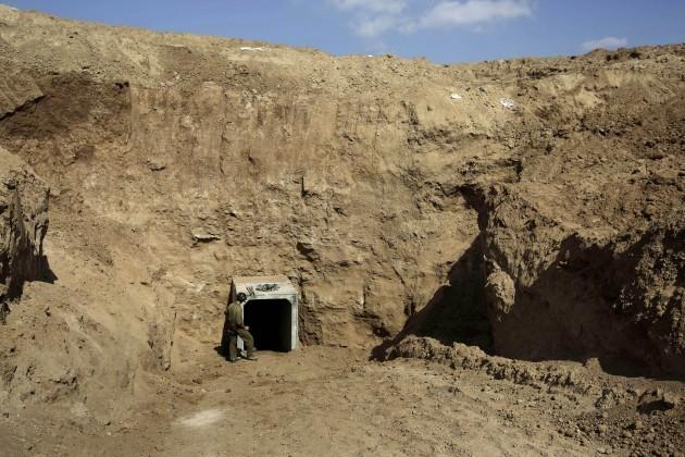 Mideast Israel Palestinians Tunnel Threat