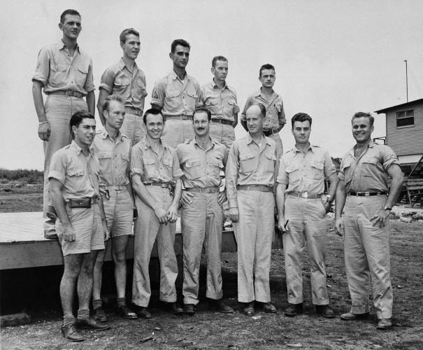 WWII US Enola Gay Crew 1945