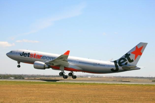 Jetstar Airbus A330 taking off