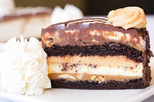 Reese's PB choc cheesecake