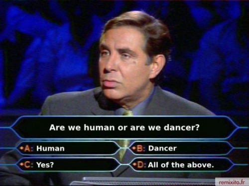 Are we human, or are we dancer?' voted most bonkers lyrics