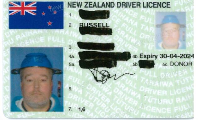 Divers license eat ass