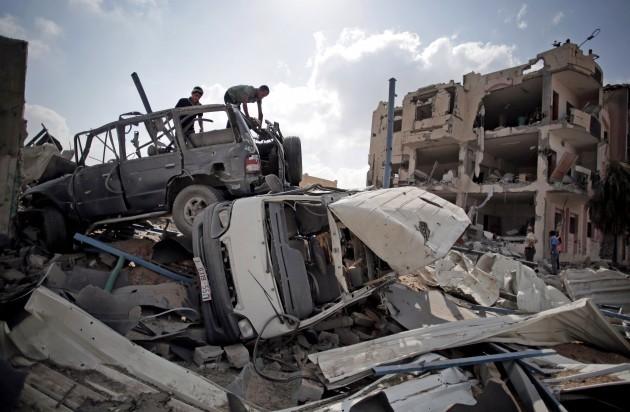 Mideast Palestinians Rafahs Devastation