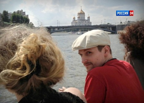 News - Edward Snowden - Moscow River Boat Trip - Russia