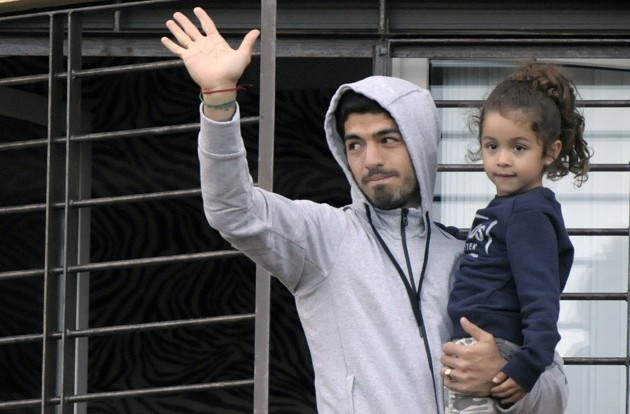 Uruguay Luis Suarez WCup Soccer