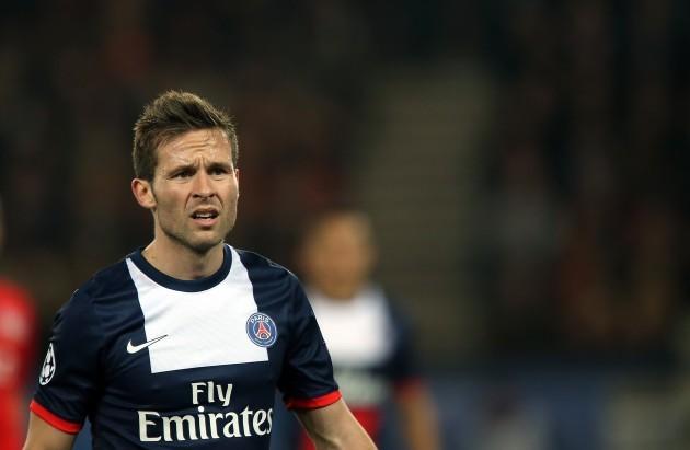 Soccer - UEFA Champions League - Round of 16 - Second Leg - Paris Saint Germain v Bayer Leverkusen - Parc de Princes