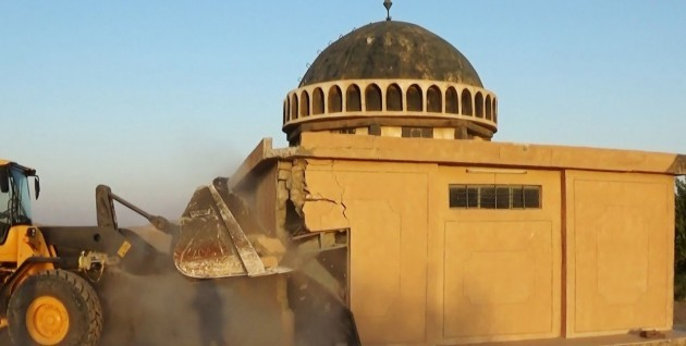 News - Islamic Extremists Destroy Ahmed al-Rifai Shrine and Tomb - Tal Afar, Iraq