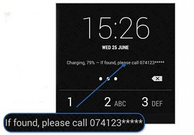 Display Emergency Contact Details On Your Lock Screen