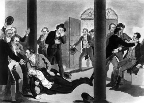 Crime - Assassination - Spencer Perceval - London
