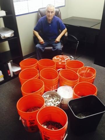 Buckets of Coins Settlement