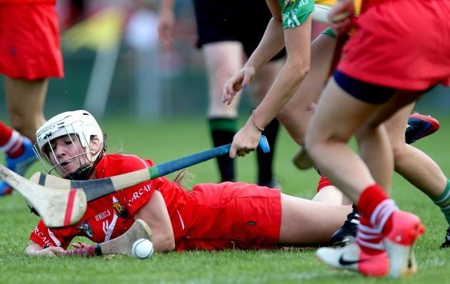 Denise Cronin under pressure