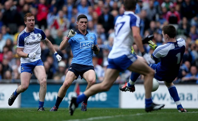 Diarmuid Connolly scores his side's first goal