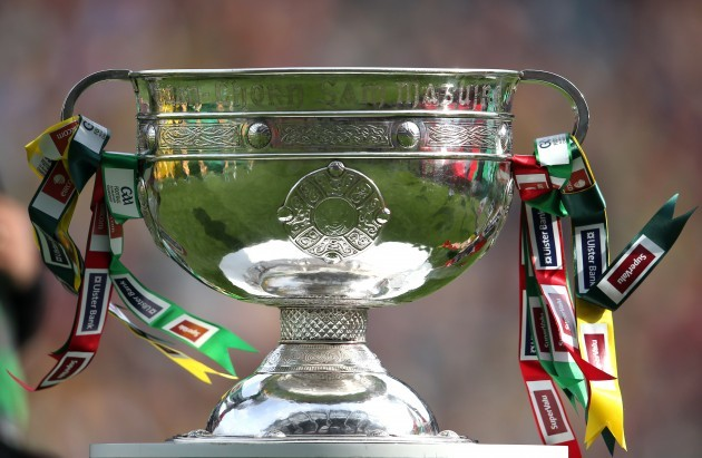 General view of the Sam Maguire cup