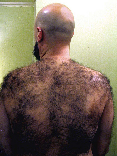 should guys shave chest hair