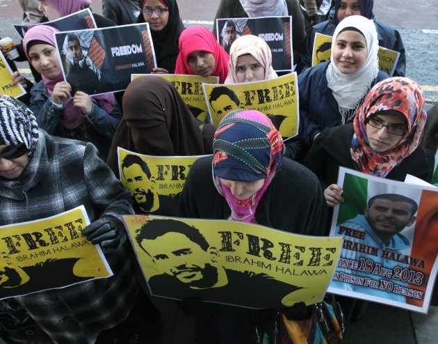 Free Ibrahim Halawa Protests