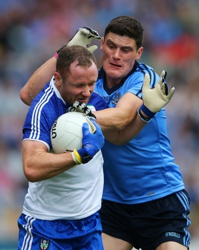 Diarmuid Connolly and Vinny Corey