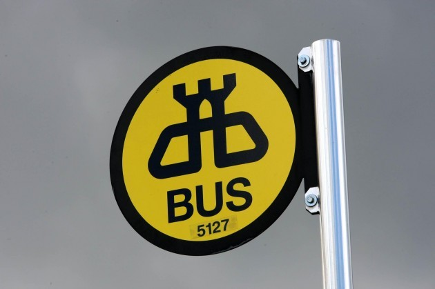 Bus drivers strike