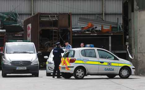 File photo: Gardai say post-mortem on body parts found at rececling plant were dismembered.