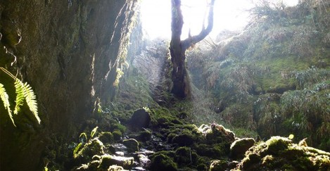 Poll na Gollum Cave in the Burren which event organisers suggest influenced the creation of one of Tolkien's most famous characters (Gollum)
