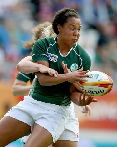 Sophie Spence tackled