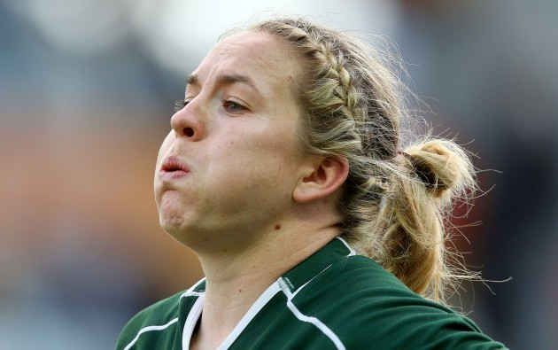 Niamh Briggs at the final whistle