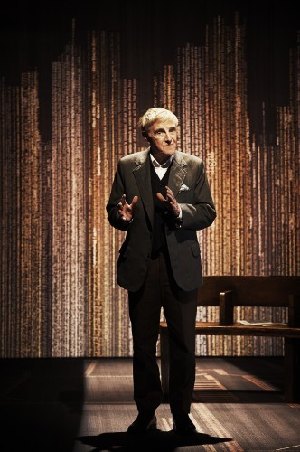 Eamon Morrissey in his one-man-show Maeve's House produced by the Abbey Theatre Pic  Ros Kavanagh