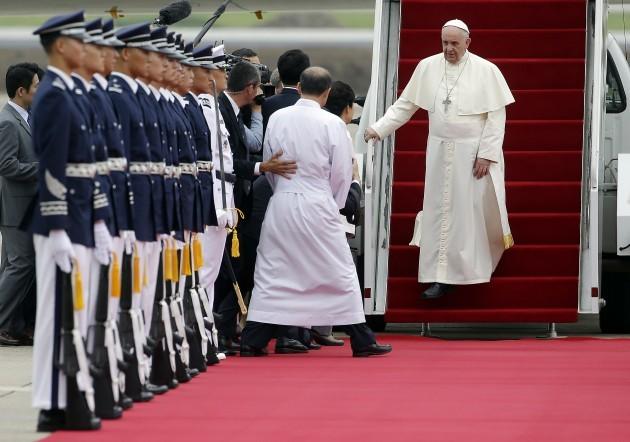 South Korea Pope