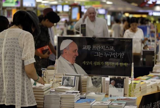South Korea Pope Francis