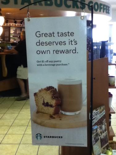 Starbucks Bad grammar