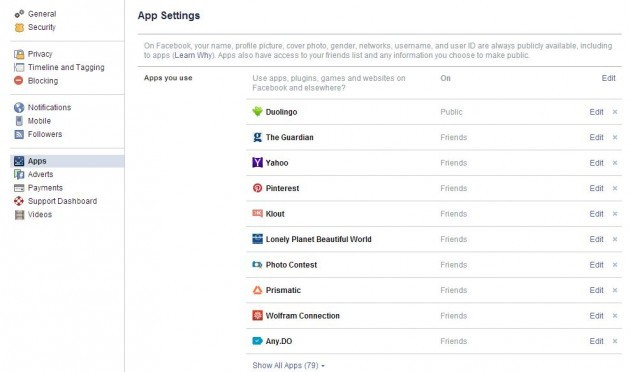 Apps FB
