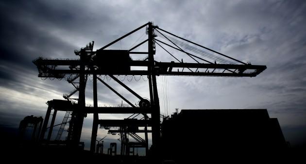 Tilbury Docks - stock