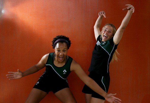 Ashleigh Baxter and Sophie Spence