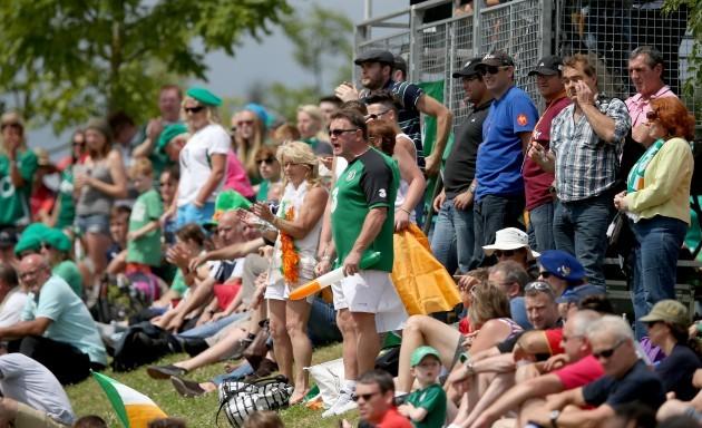 Ireland fans