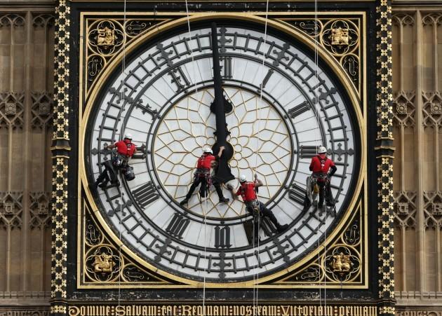 Great Clock maintenance