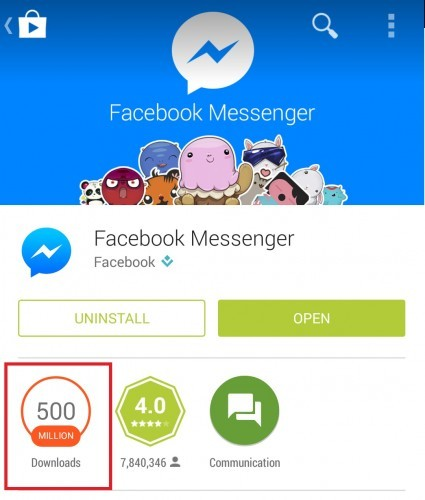 Annoyed that Facebook forced you to download Messenger? Turns out it
