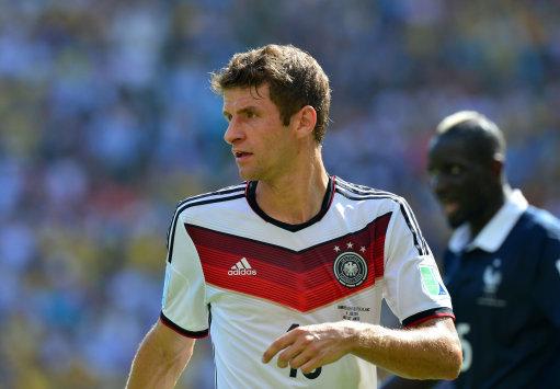 Soccer - FIFA World Cup 2014 - Quarter Final - France v Germany - Estadio Maracana