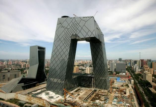 China Olympics CCTV Tower